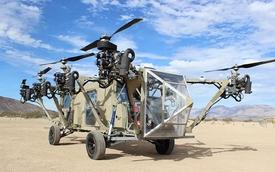 Quân đội Mỹ phát triển xe tải lai trực thăng